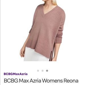 BCBGMaxazria high-low sweater, NWT